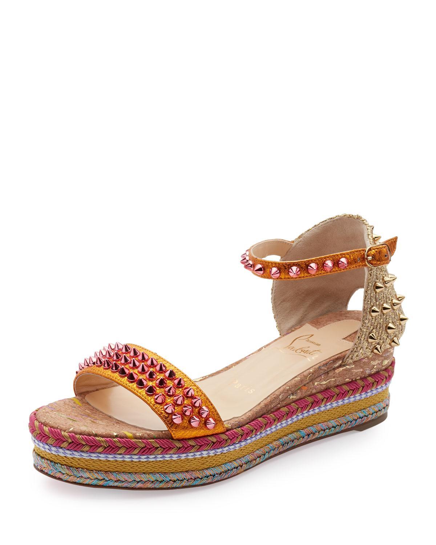 5f9a151281ba ... get lyst christian louboutin madmonica platform espadrille sandal 1152f  a8d5f release ...