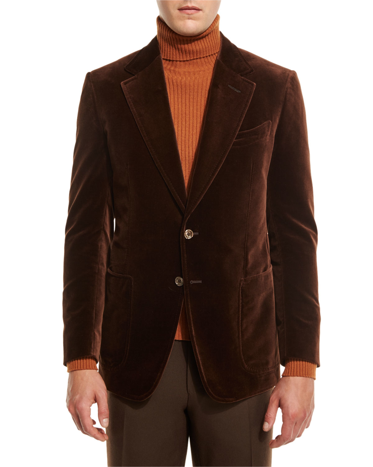 Velvet Sport Coat | Men's Jacket
