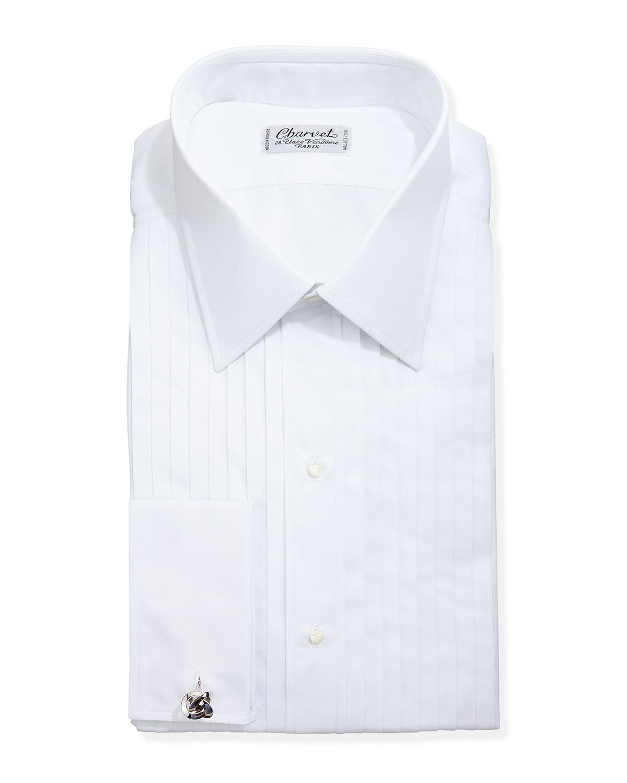 Charvet French Cuff Dress Shirt In White For Men Lyst