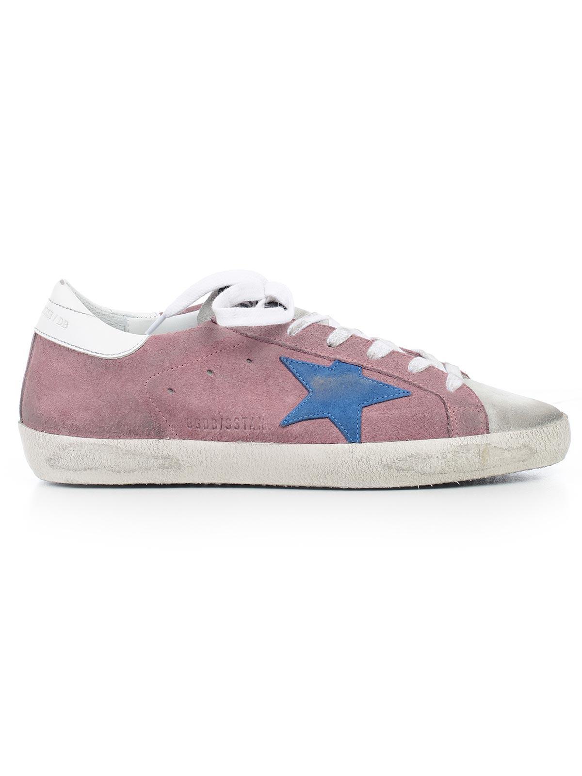 b522676758e Lyst - Golden Goose Deluxe Brand Sneakers Superstar in Pink