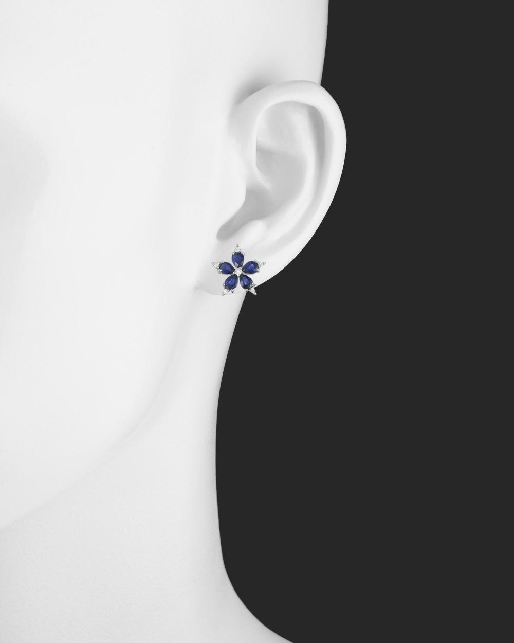 aa1e51fd29ab7 Women's Small Sapphire & Diamond