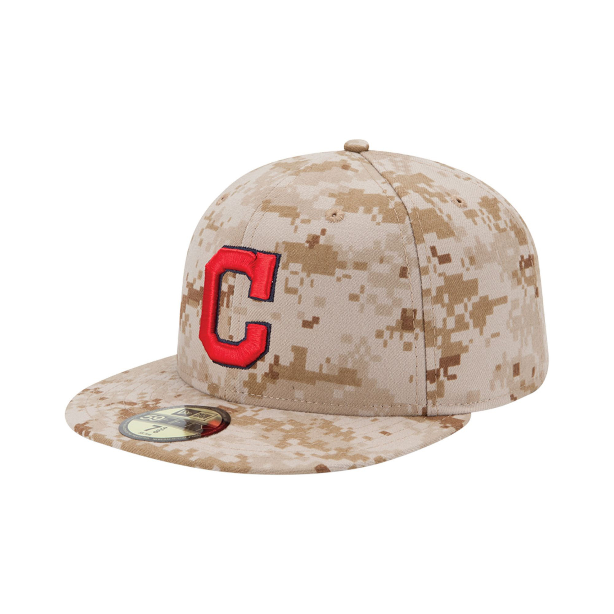 518267c9540c49 KTZ Cleveland Indians Mlb Memorial Day Stars Stripes 59fifty Cap in ...