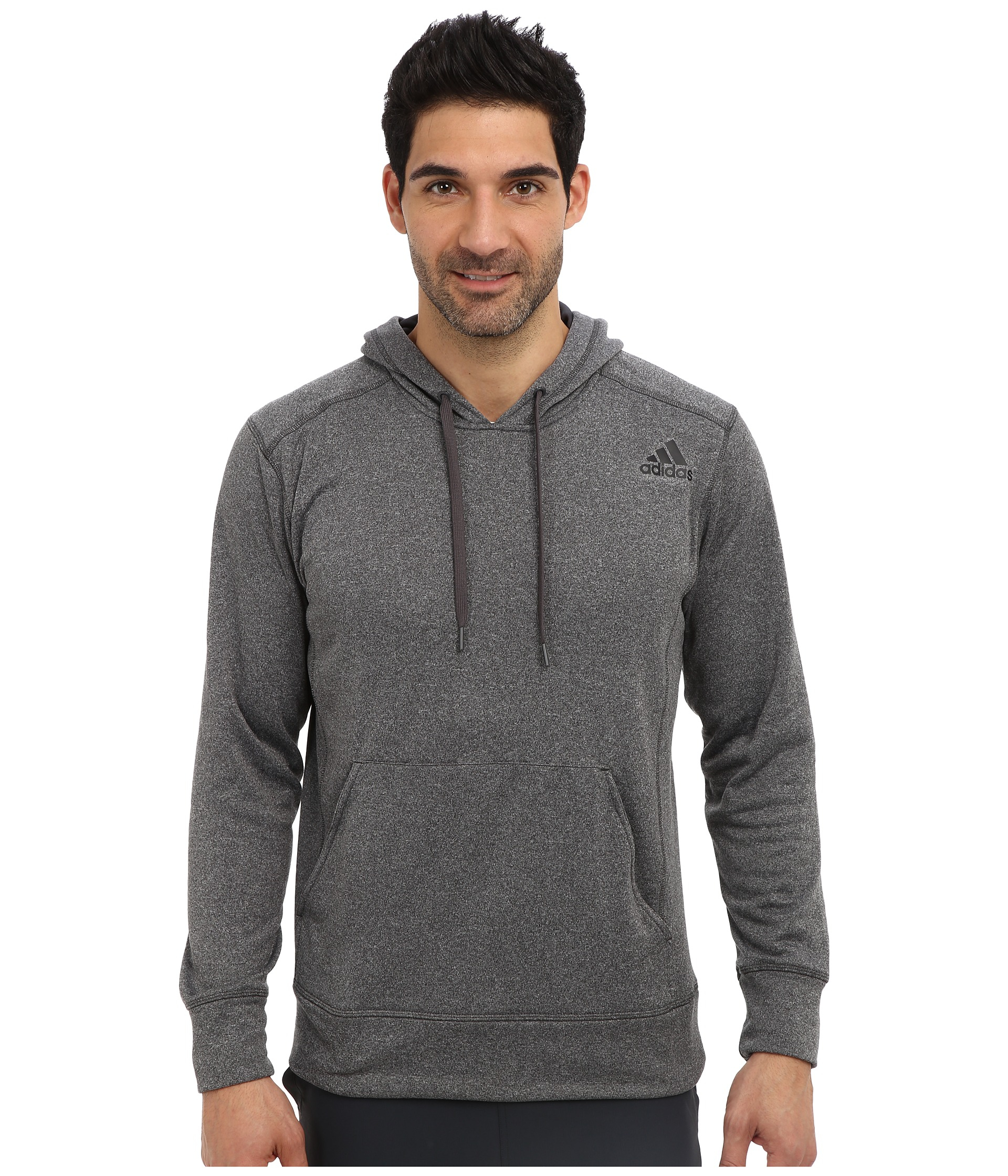 8c662b2afd10 Lyst - adidas Ultimate Fleece Pullover Hoodie in Gray for Men