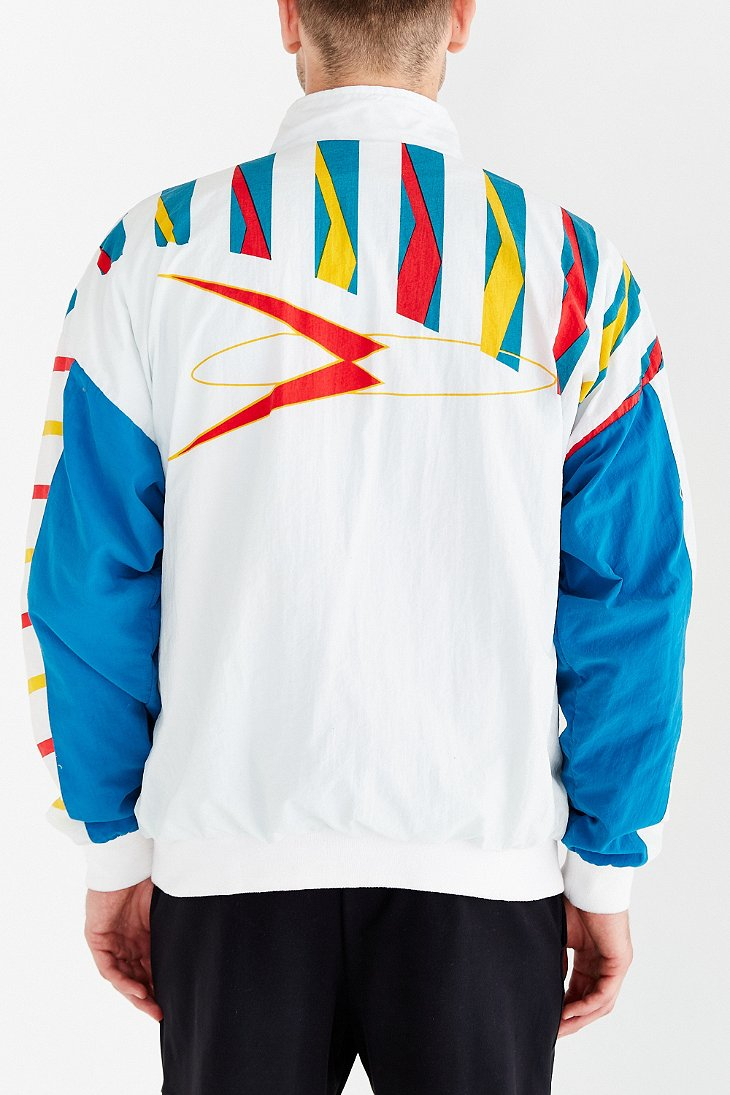 vast selection large discount cheap prices Vintage Reebok Tiger Stripe Windbreaker Jacket