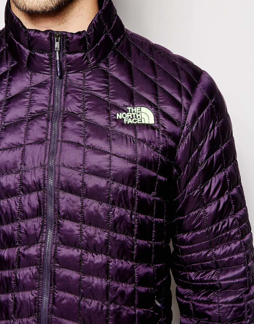 c6d1c84ee The North Face Purple Thermoball Jacket for men