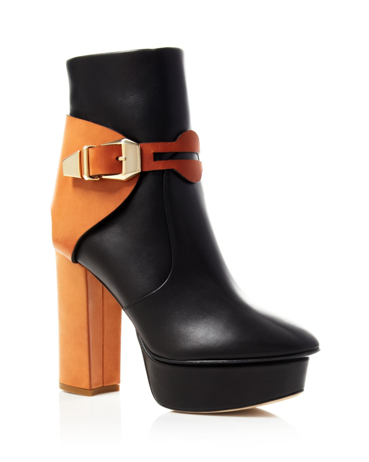 websites for sale cheap 2015 new Jerome C. Rousseau Suede Platform Booties free shipping with mastercard outlet visit arXC8cnm