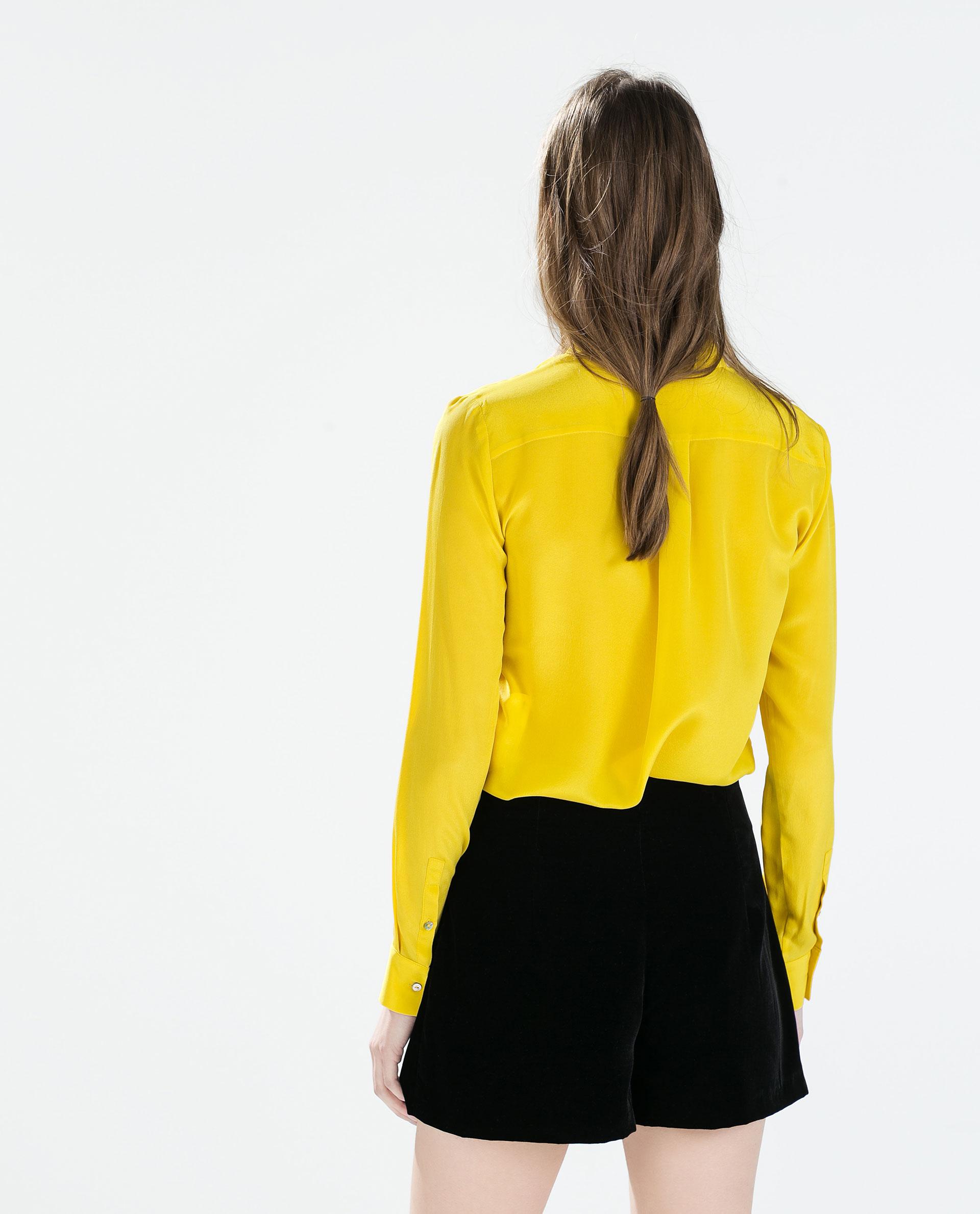 Zara Long Sleeved Blouse 83