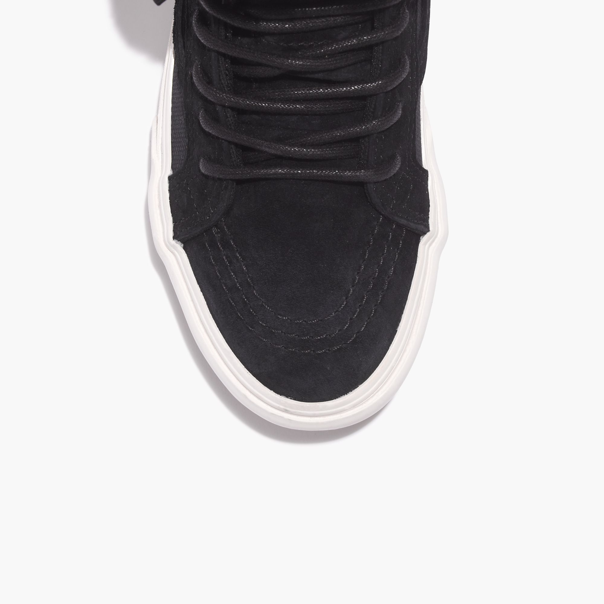 Lyst - Madewell Vans® Sk8-hi Slim Zip High-top Sneakers In Fleece in ... 52b038f51