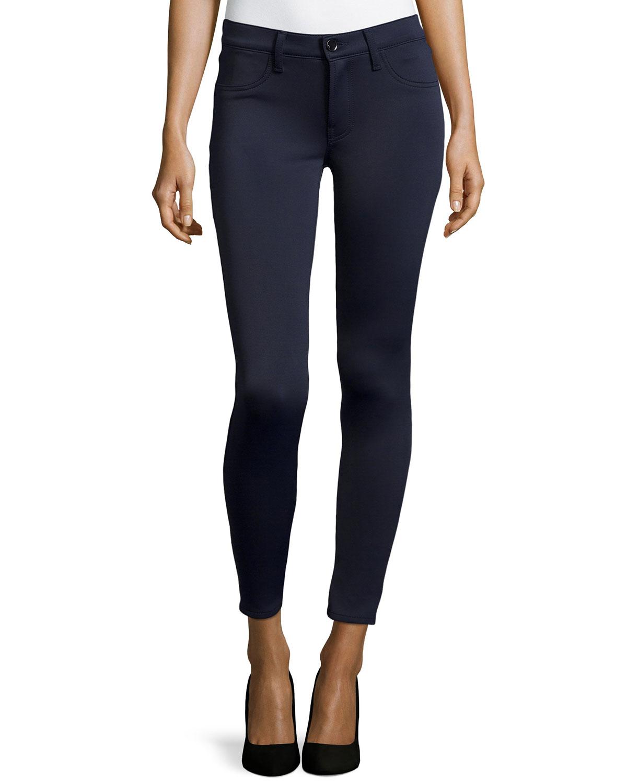 j brand 815 mid rise super skinny pants in blue lyst. Black Bedroom Furniture Sets. Home Design Ideas