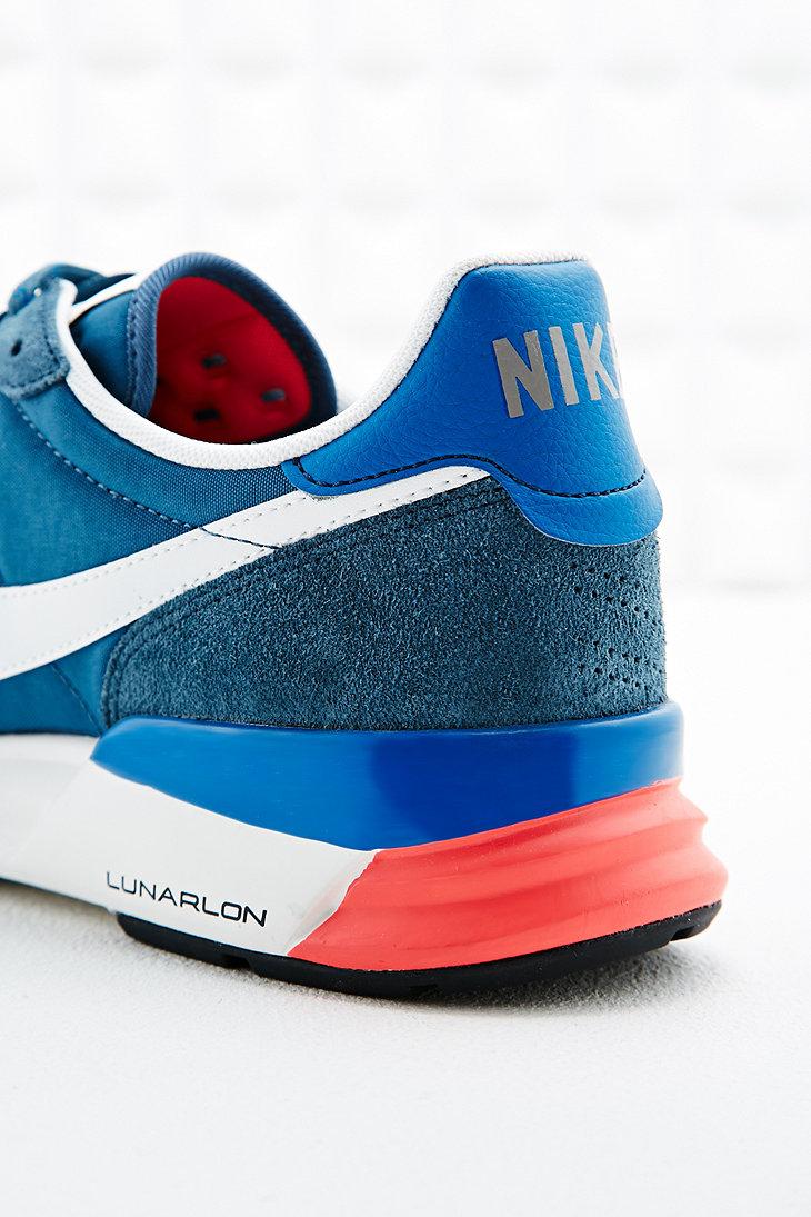 size 40 9de29 d4ddf ... nike lunar internationalist trainers blue ...