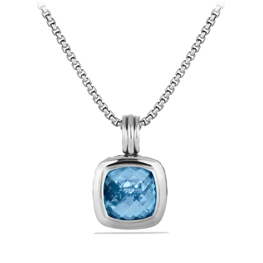 david yurman albion pendant with blue topaz in blue lyst