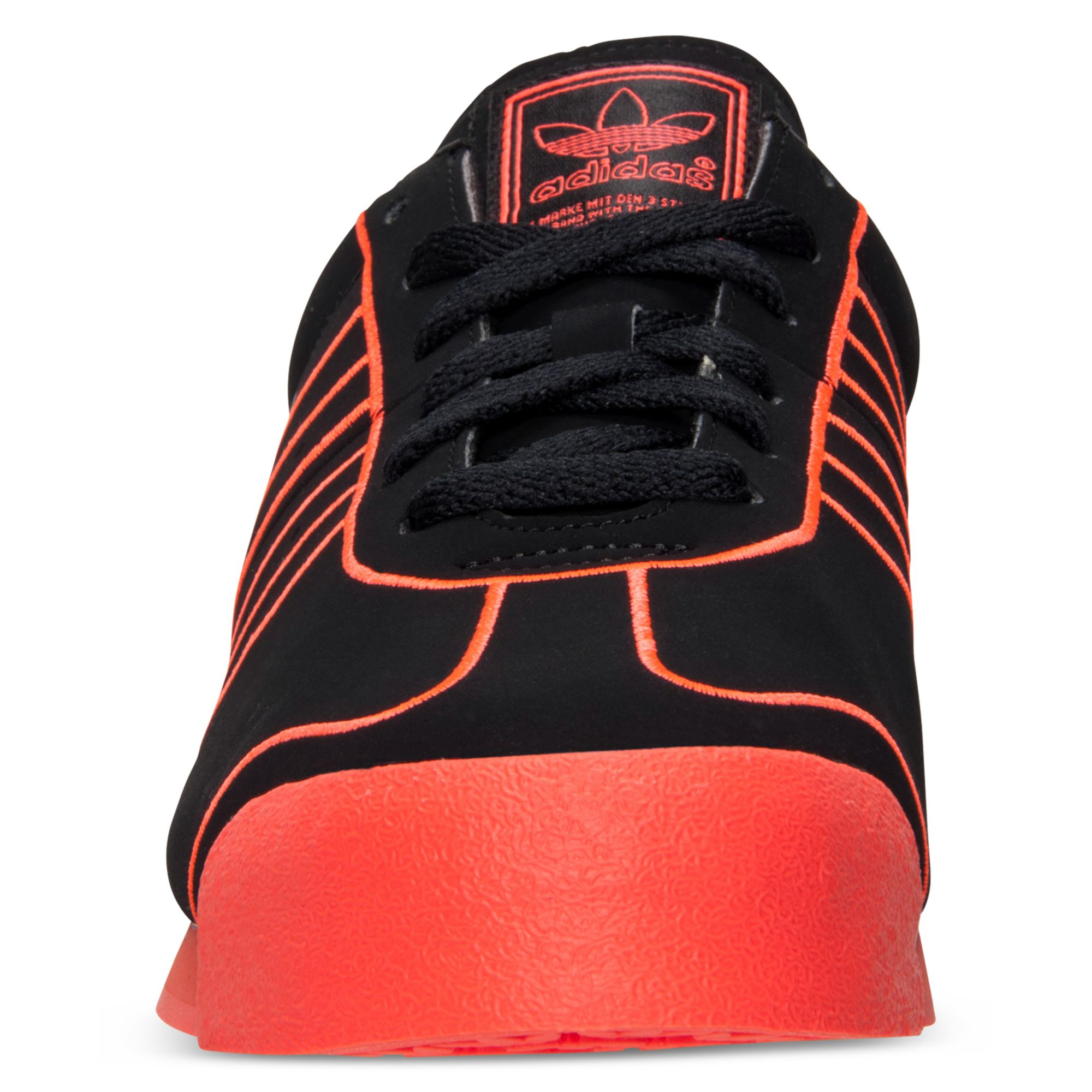 buy online 26e9a bf6d3 Lyst - adidas Samoa Casual Sneakers in Black for Men