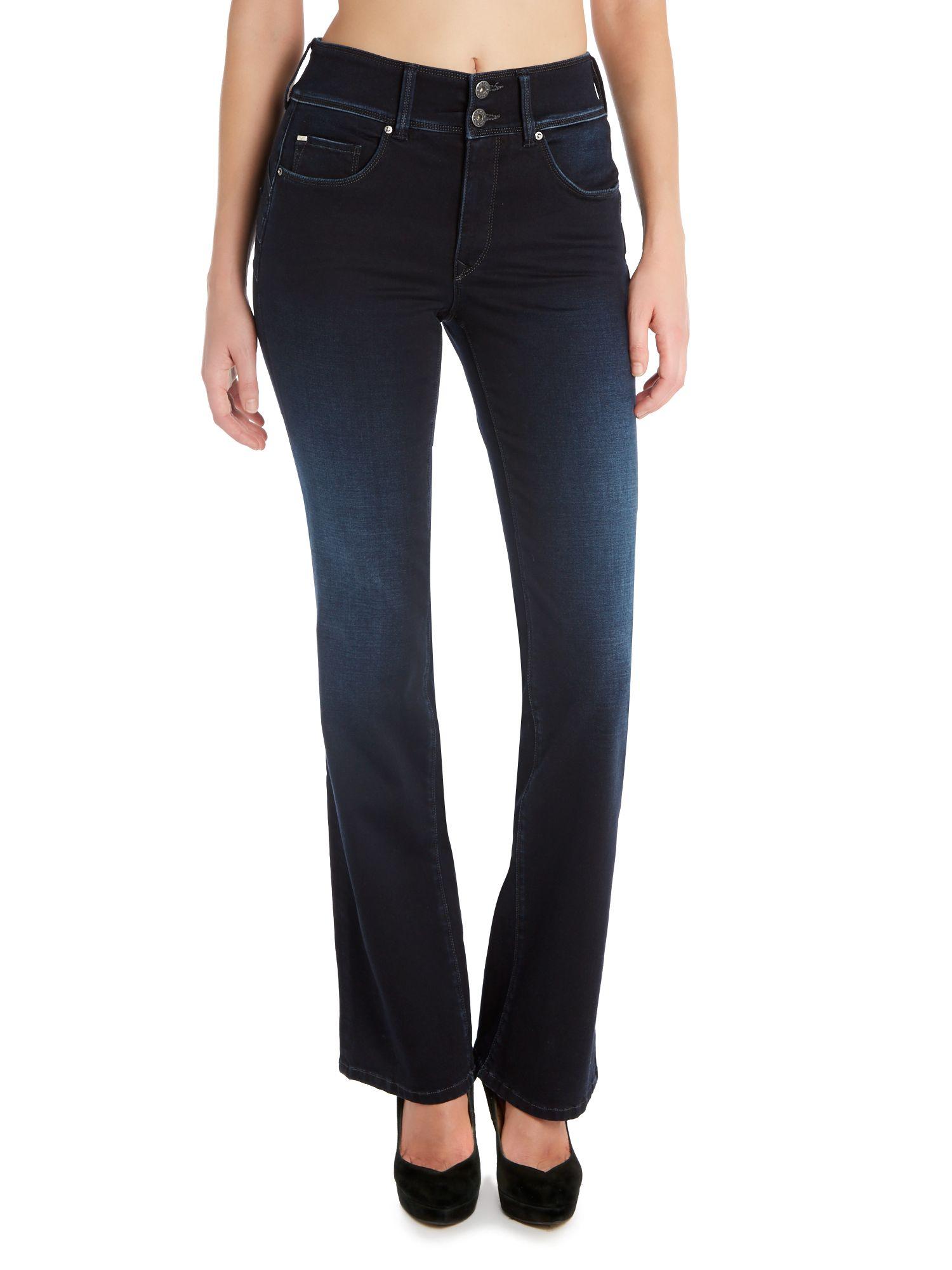 salsa secret push in bootcut jeans in blue lyst. Black Bedroom Furniture Sets. Home Design Ideas