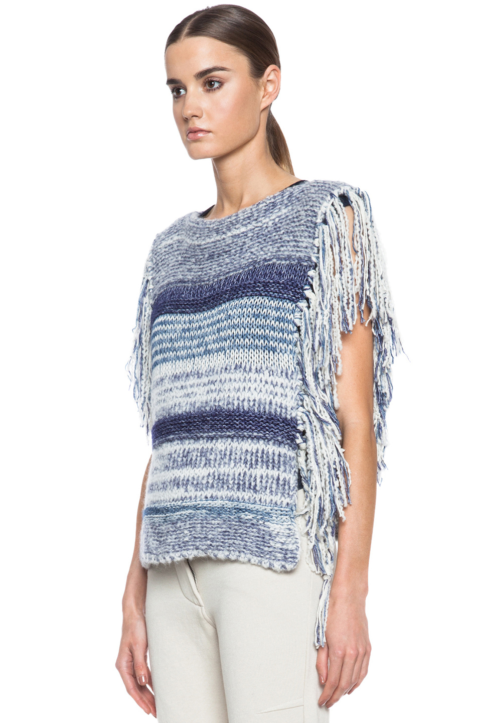 toile isabel marant peyton sweater in blue lyst. Black Bedroom Furniture Sets. Home Design Ideas