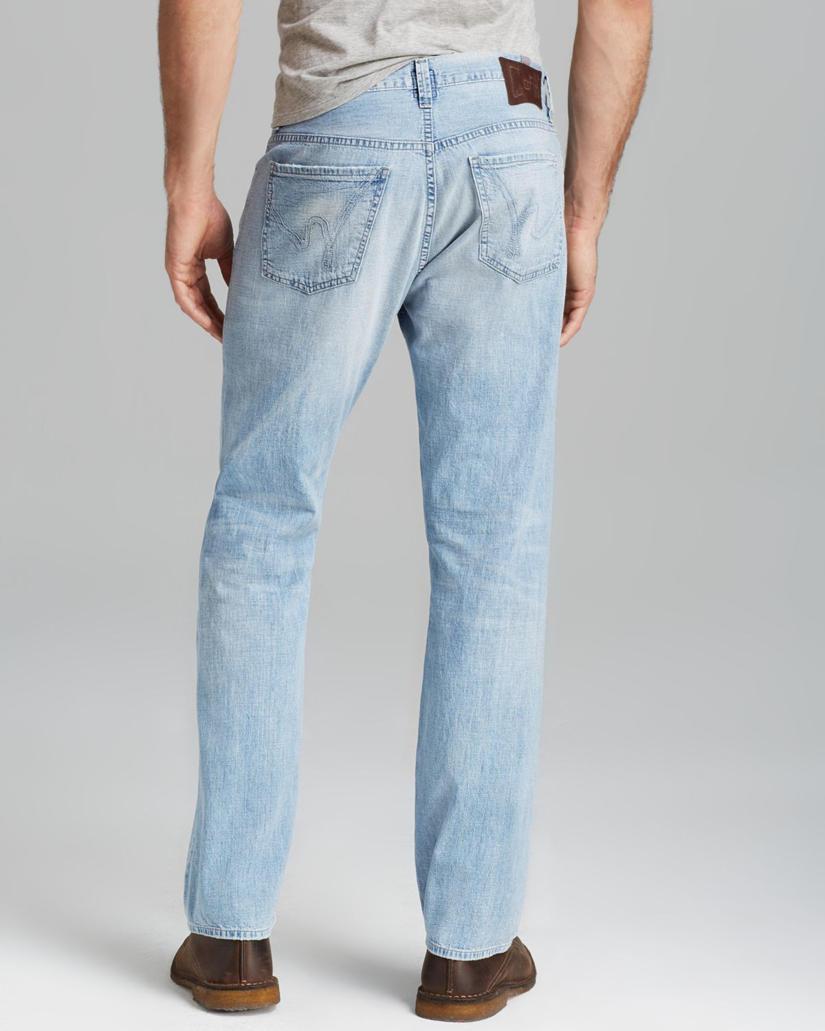 Citizens of humanity Jeans - Perfect Relaxed Fit In White Wash in ...
