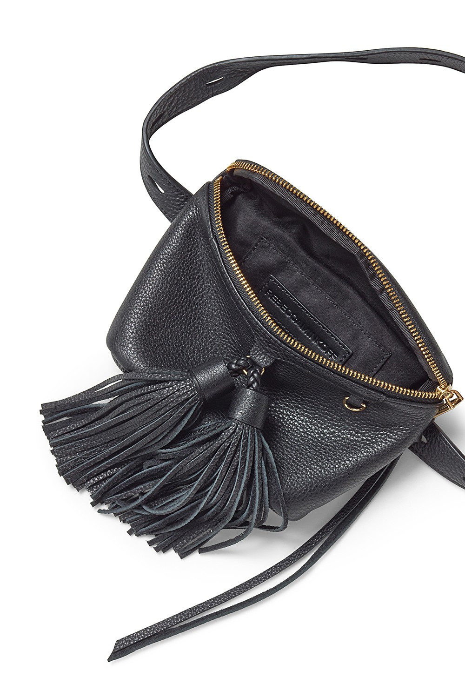 Lyst Rebecca Minkoff Wendy Belt Bag In Black