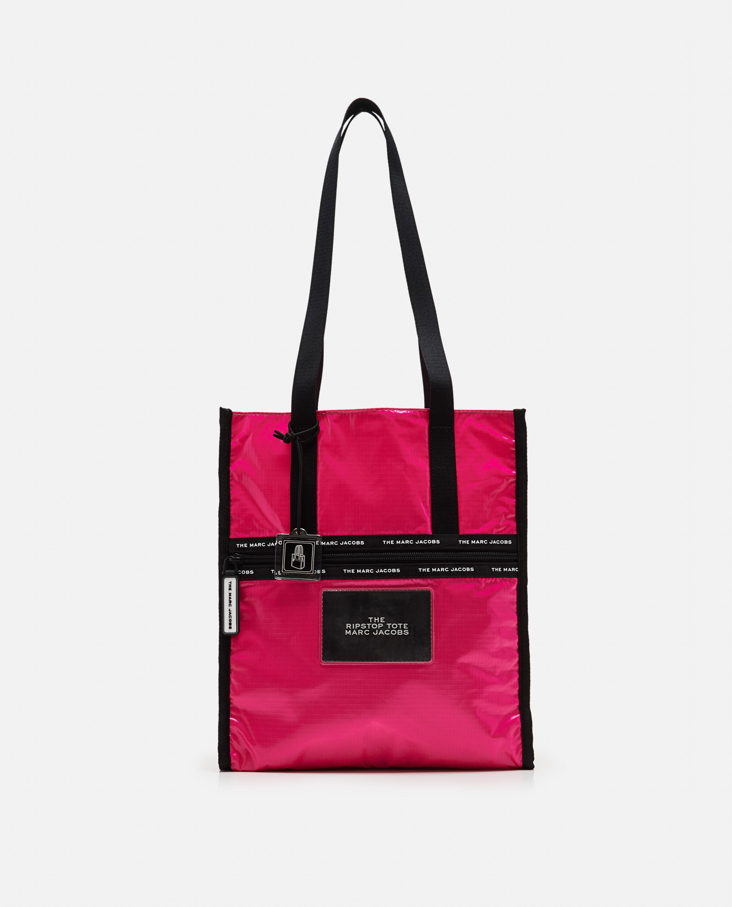 Marc By Marc Jacobs Shiny Designer Handbags Shoulder Bag Purse Tote Black Pink S