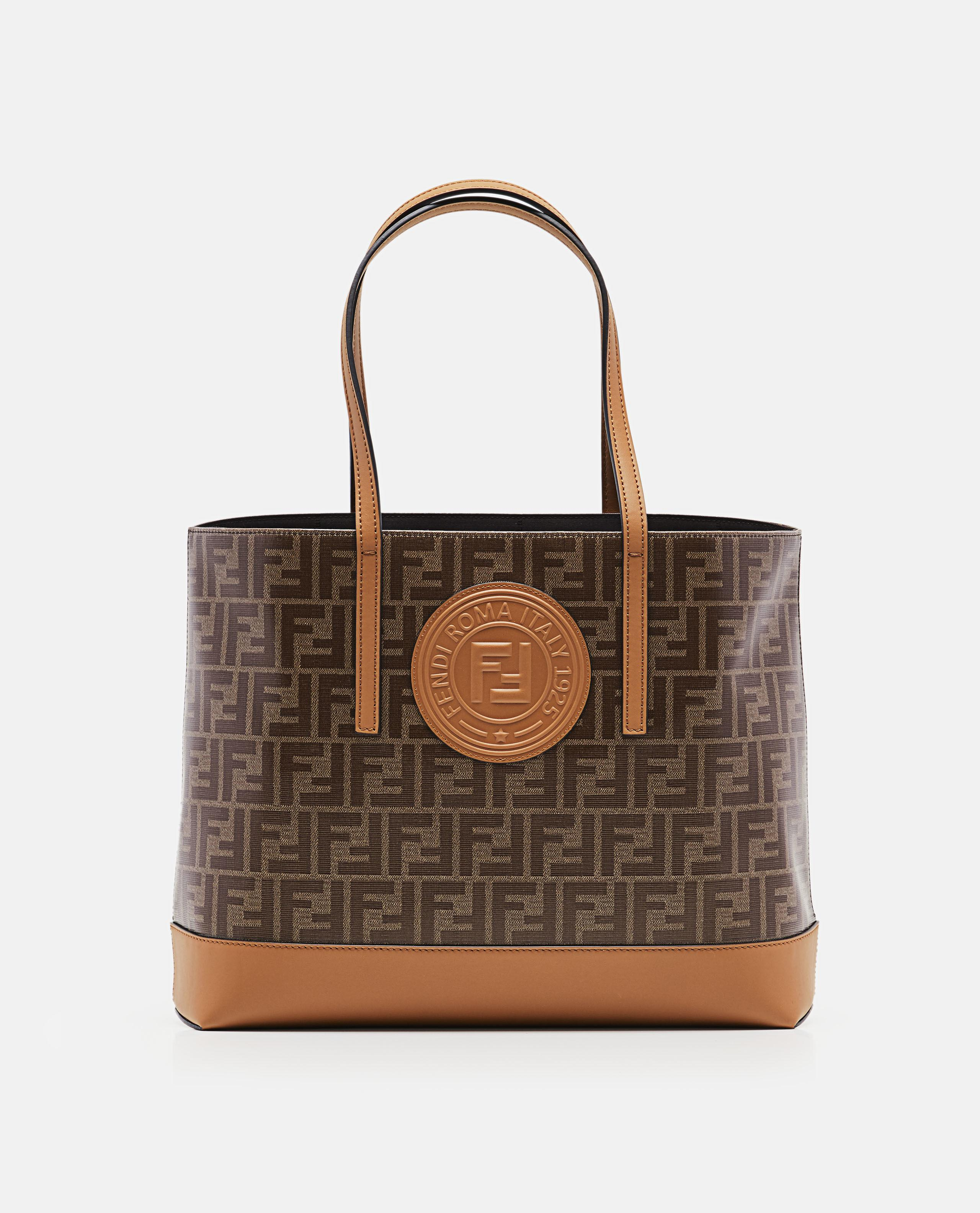 c2936593d0 Lyst - Fendi Ff Shopping Tote in Brown - Save 30%