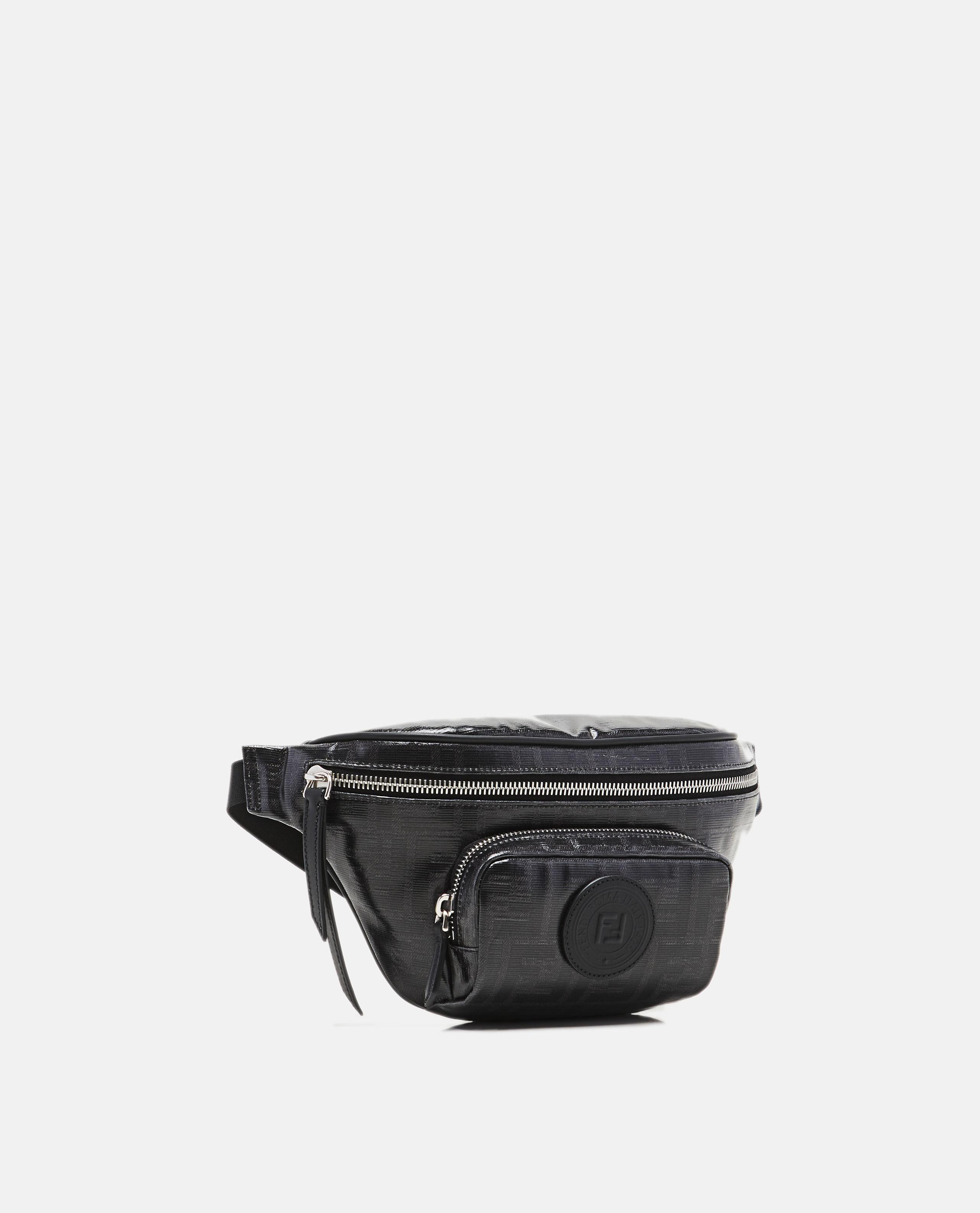 2d6b19781fd4 Fendi Ff Belt Bag in Black for Men - Lyst