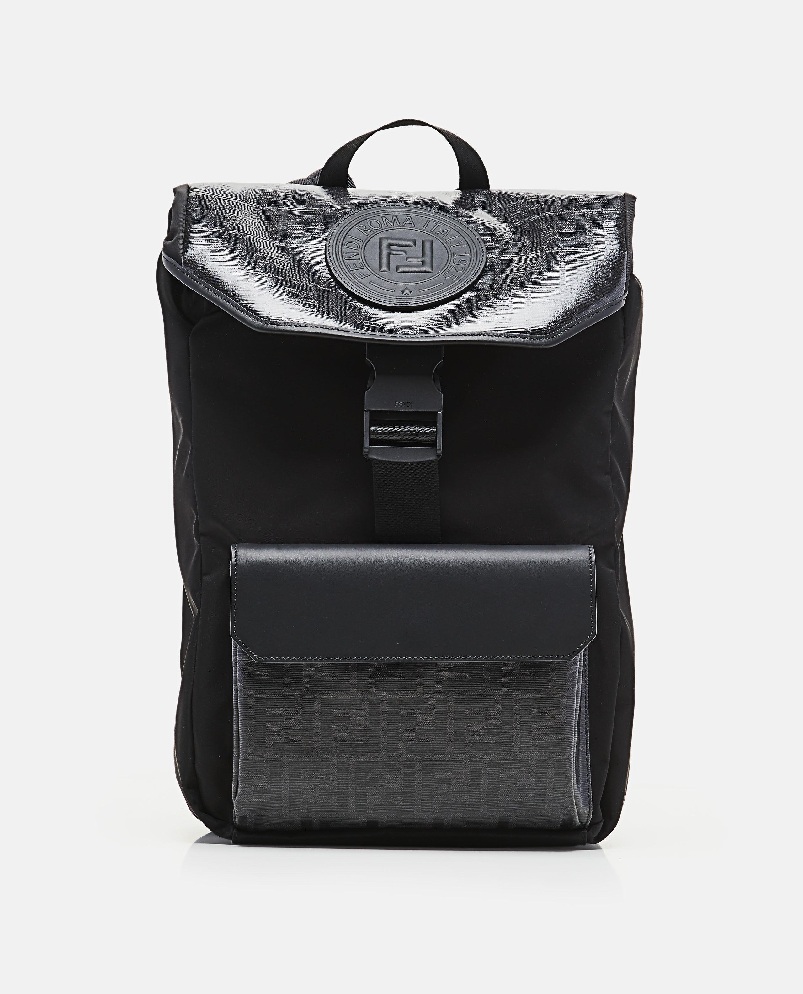 74146c52c4 Lyst - Fendi Fabric Backpack in Black for Men