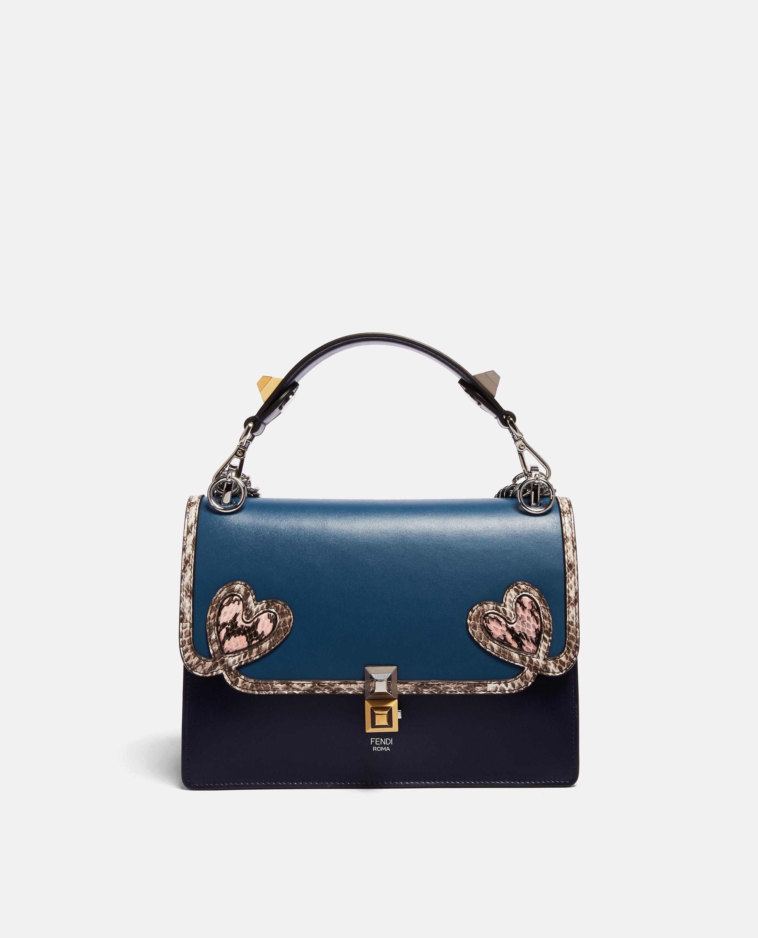 79a21a4c8656 Lyst - Fendi Kan I Bag in Blue