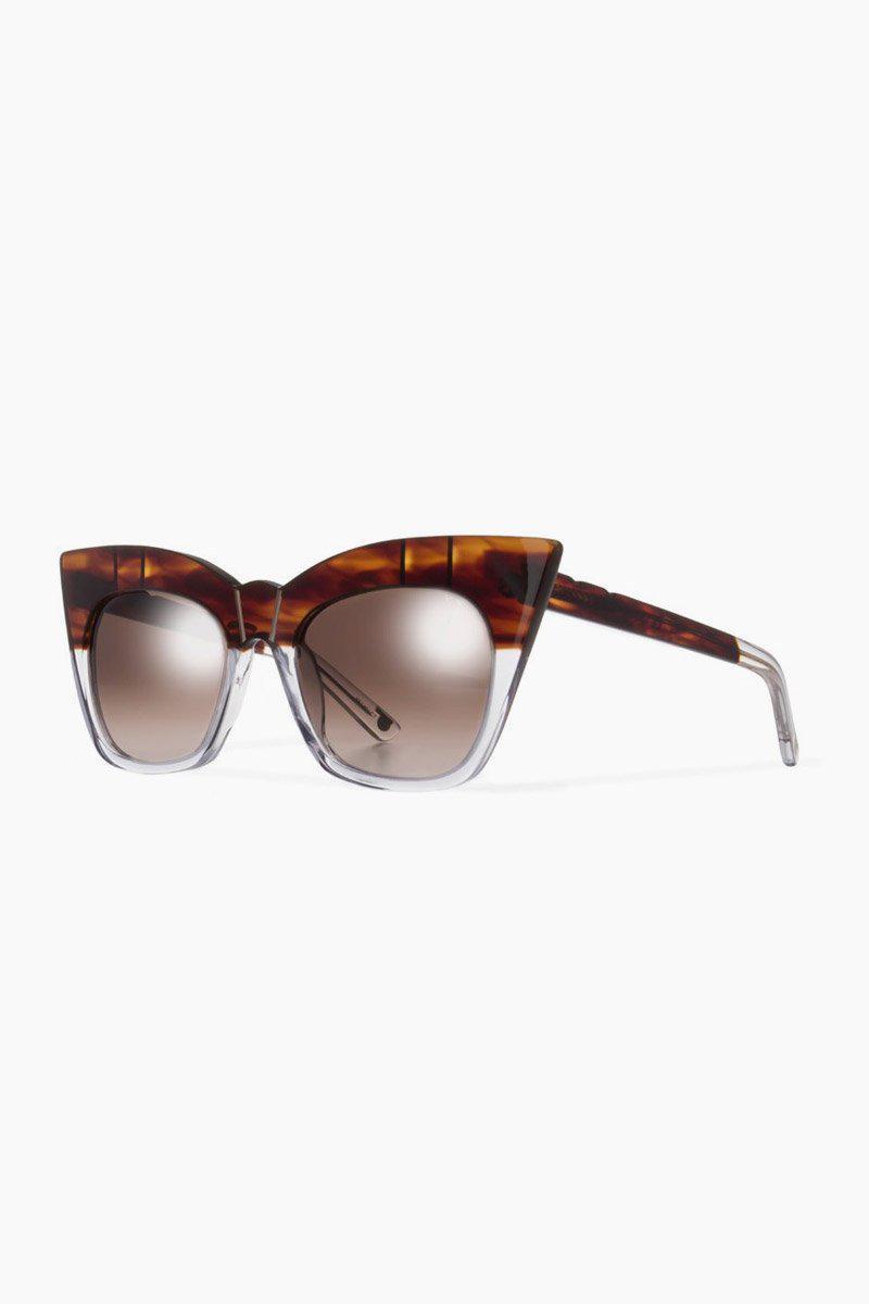 e43e3e57db Pared Eyewear Kohl   Kaftans Sunglasses - Havana clear brown Lenses ...
