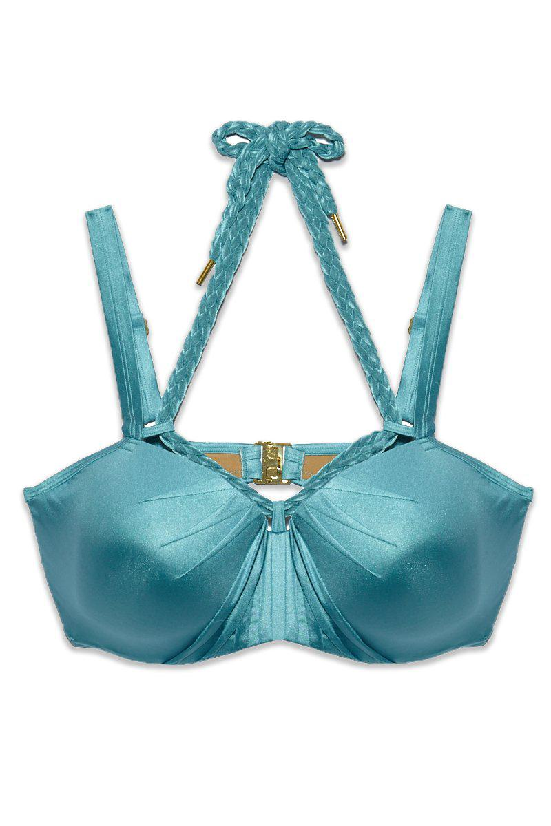 08982244fab6e Marlies Dekkers. Women's Holi Glamour Wired Padded Push Up Bikini Top ...