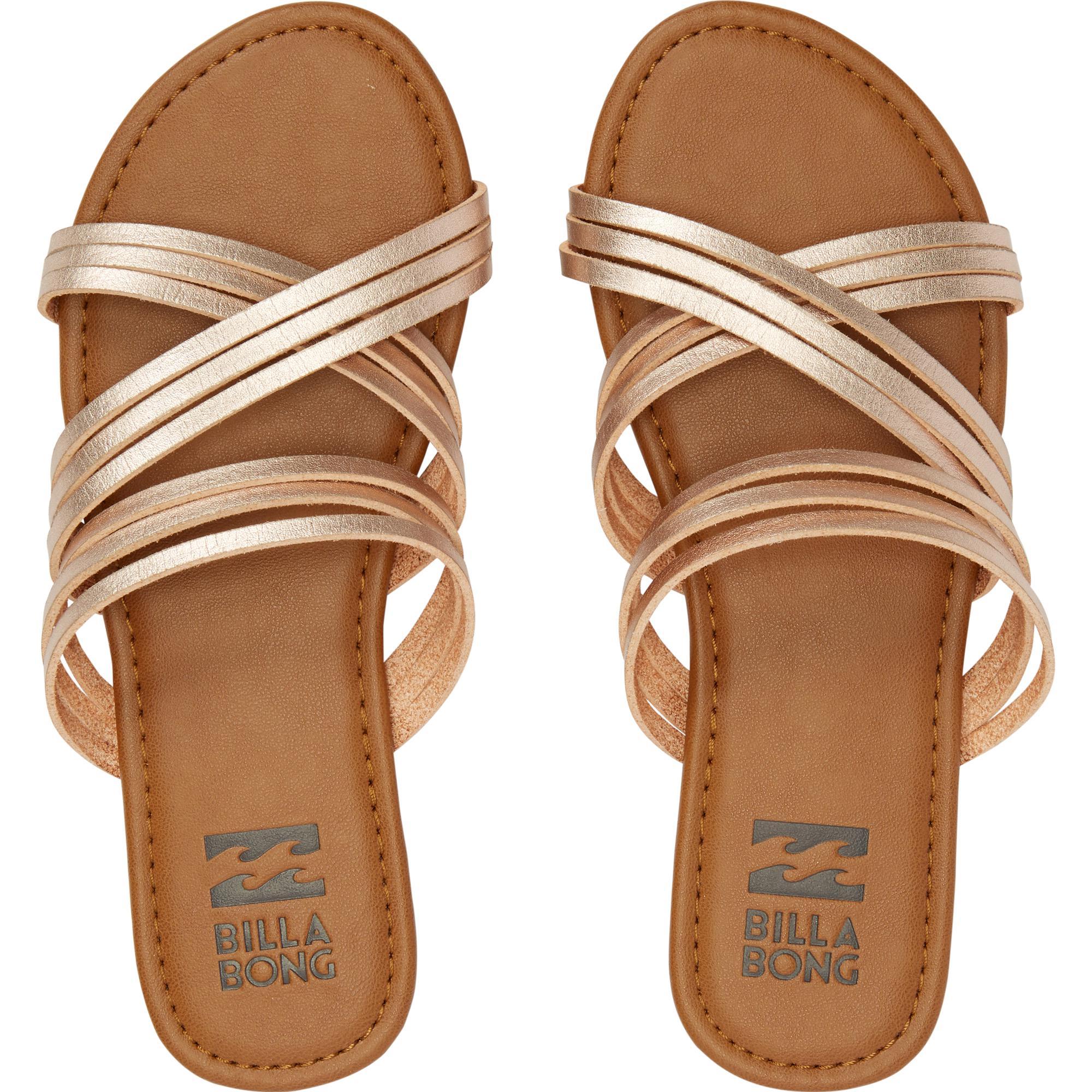 87eec2197216 Lyst - Billabong Sandy Toes Slide Sandal