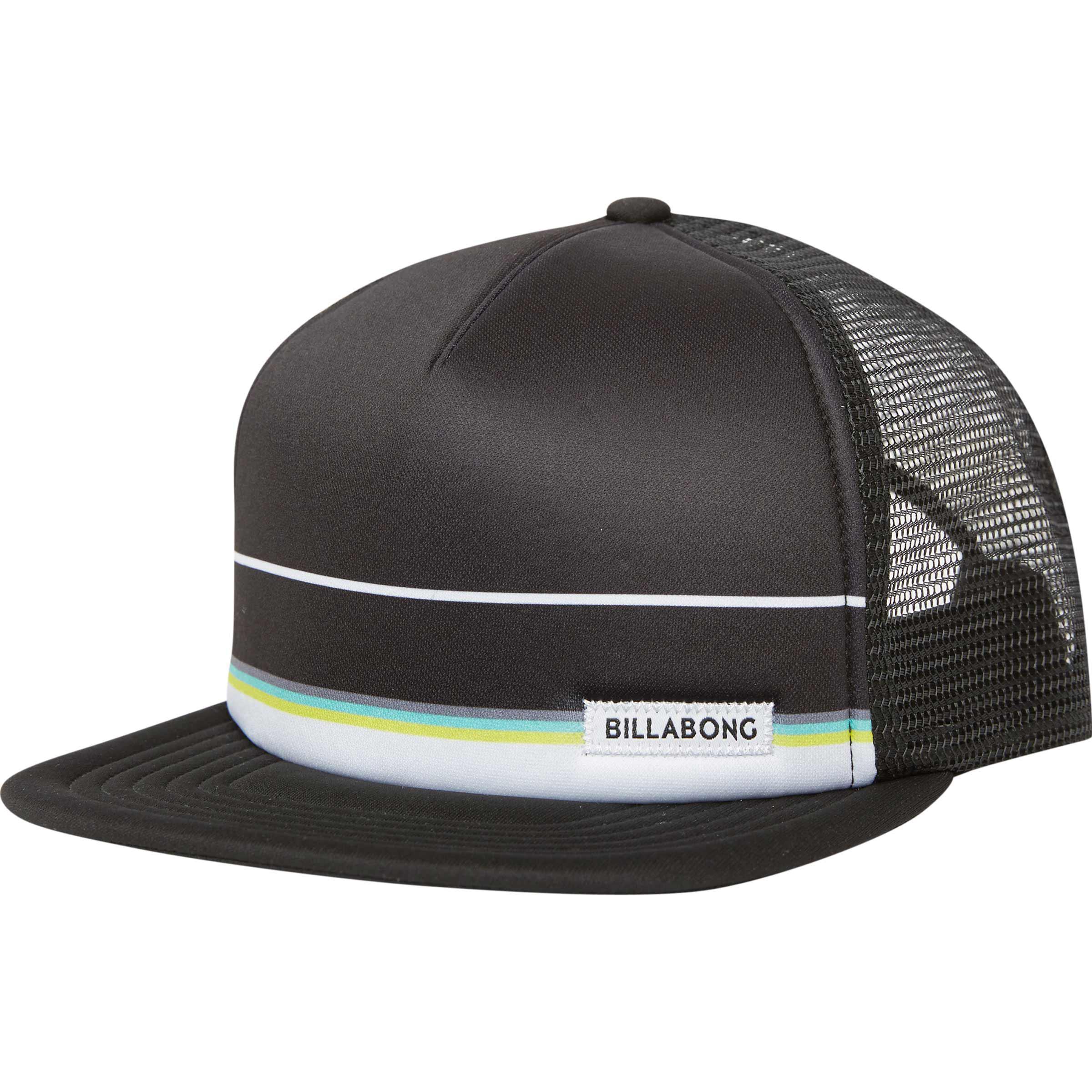 9e776b8193c Lyst - Billabong Spinner Trucker Hat in Black for Men