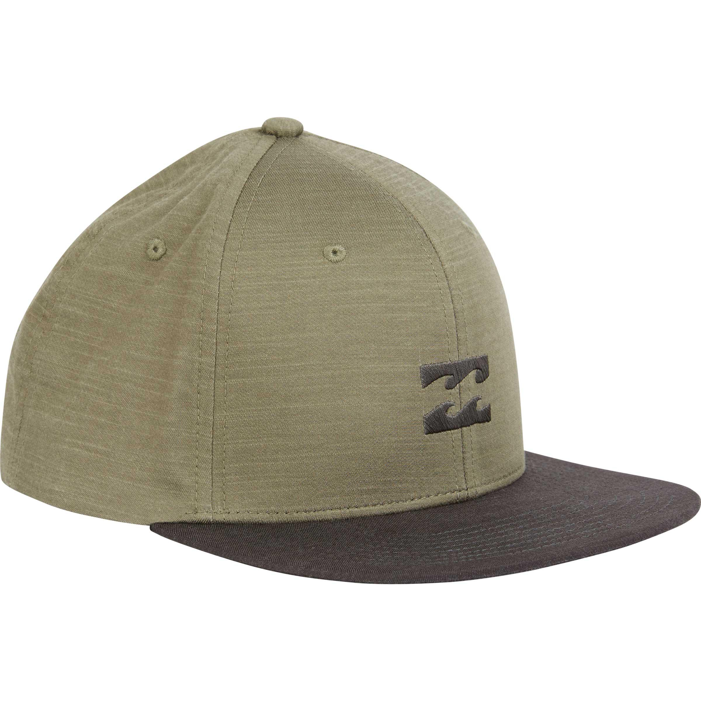 official new photos 2018 shoes Billabong All Day Heather Snapback Hat in Light Military (Green ...