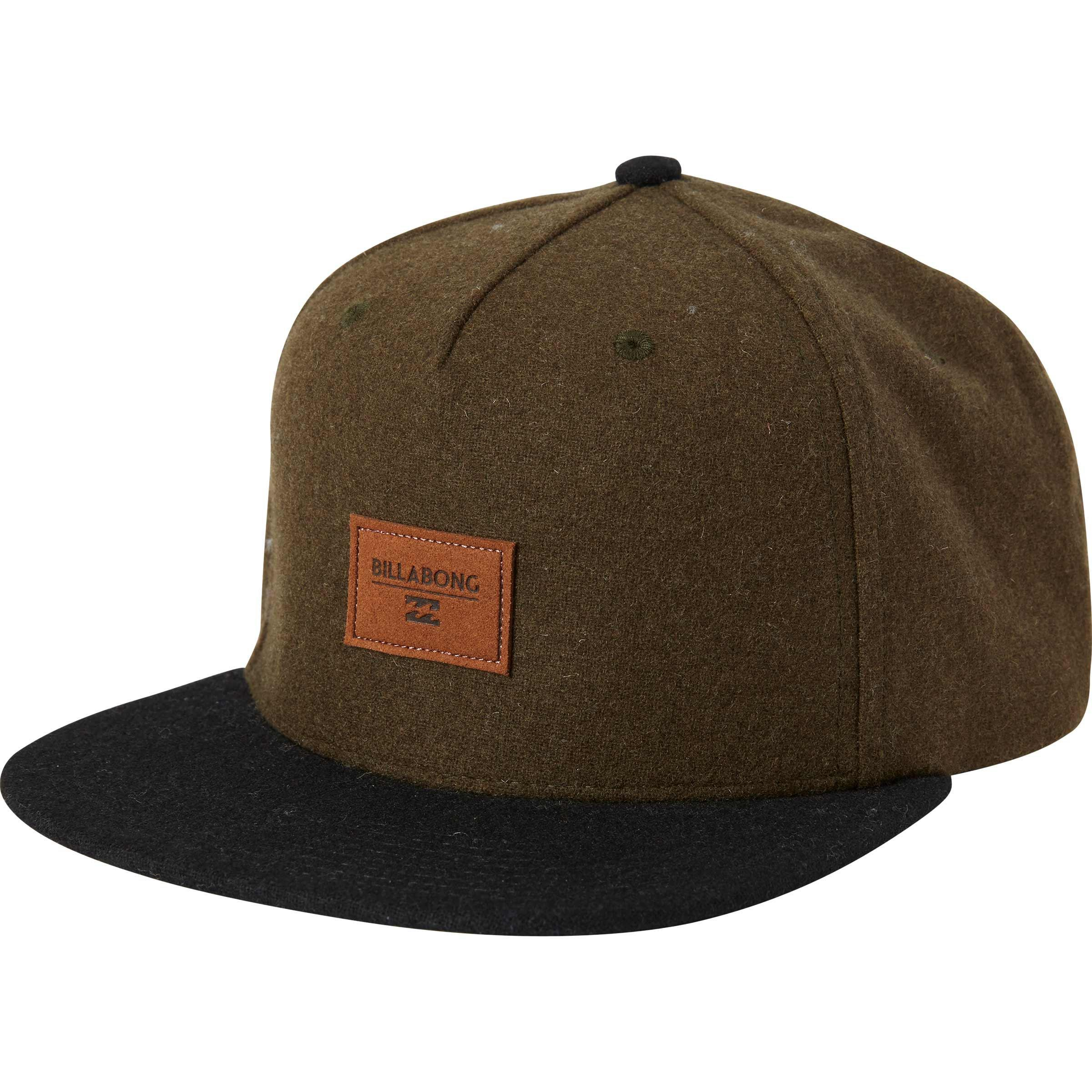 new style 8f9b3 d8ca6 Billabong Oxford Snapback Hat in Green for Men - Lyst