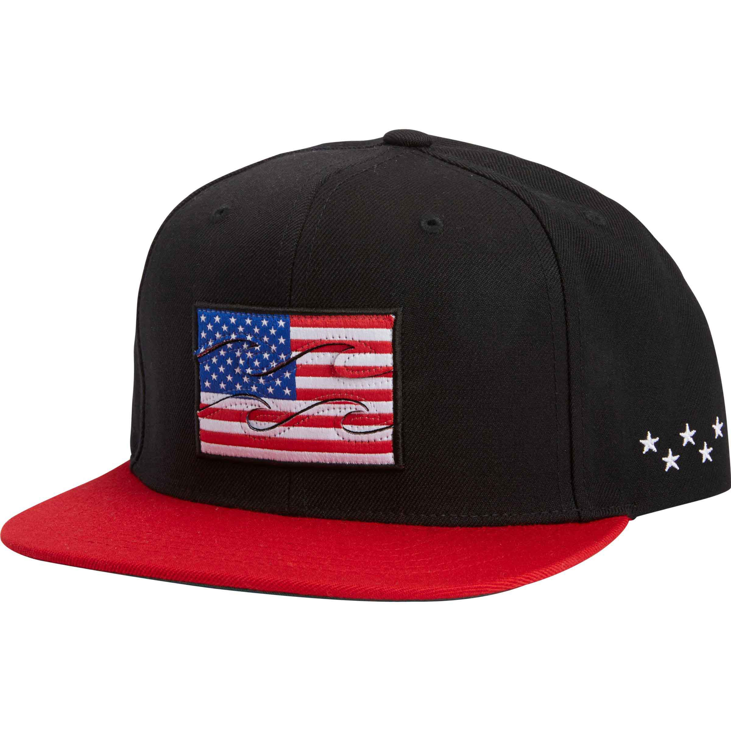 new styles c5161 1a9fc ... shopping lyst billabong native snapback hat in black for men 7ad3b 5097e