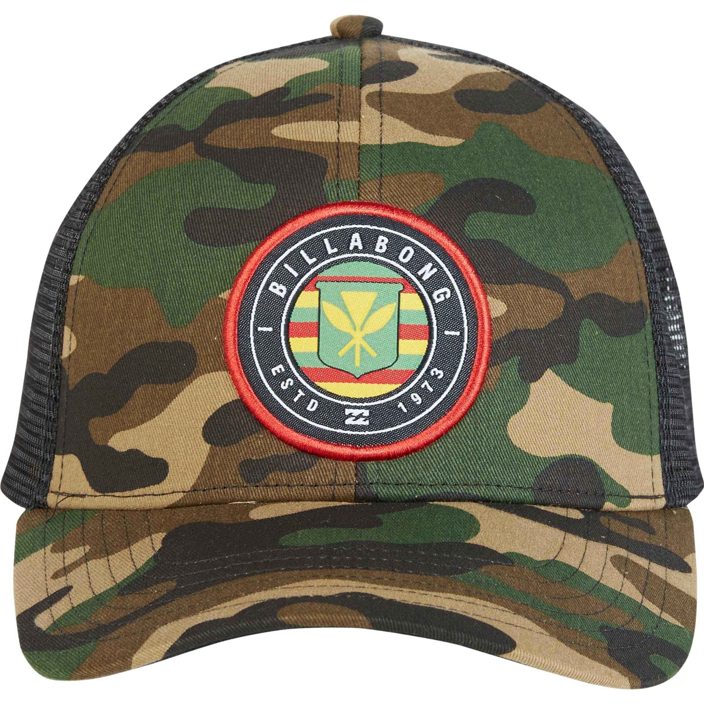 size 40 31eb7 3314e ... discount code for billabong multicolor native rotor camo trucker hat  for men lyst. view fullscreen