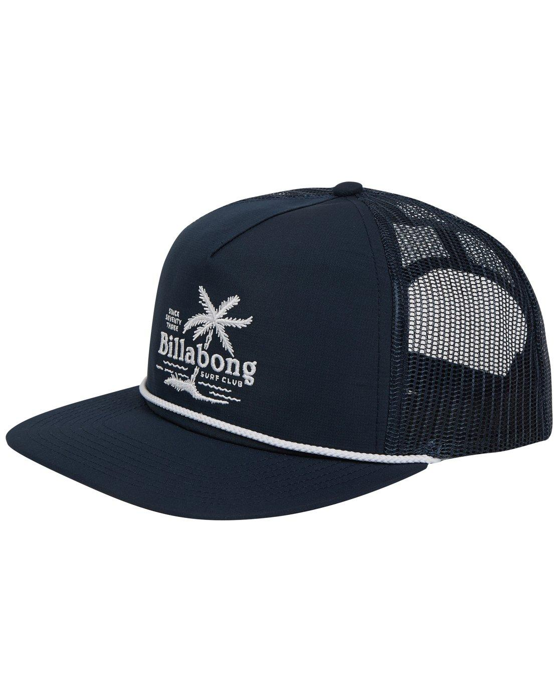 reputable site 57619 64a18 Lyst - Billabong Alliance Trucker Hat in Blue for Men