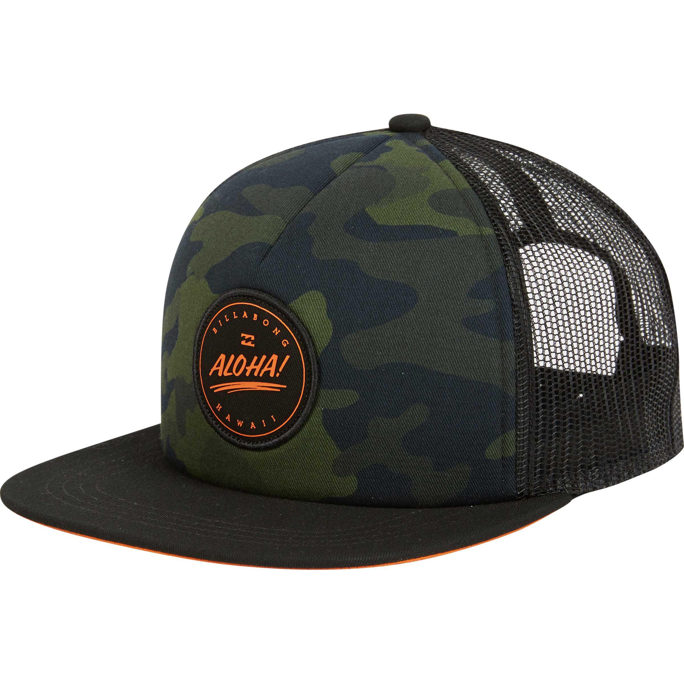 c6b3f0b4b3d ... coupon code lyst billabong aloha trucker hat in green for men 39091  910e4
