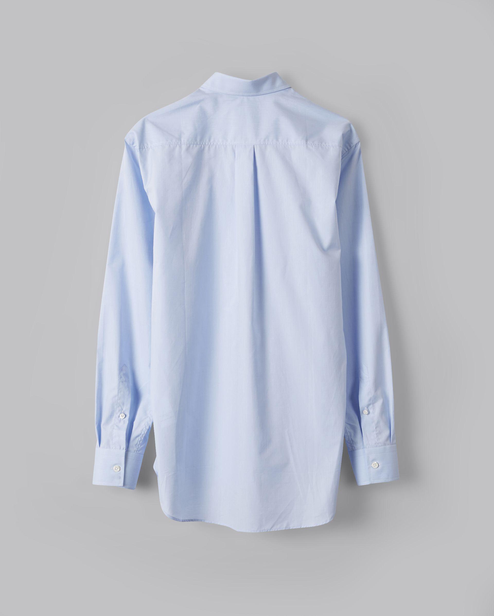 Billy Reid Sea Island Cotton Holt Dress Shirt In Blue For Men Lyst