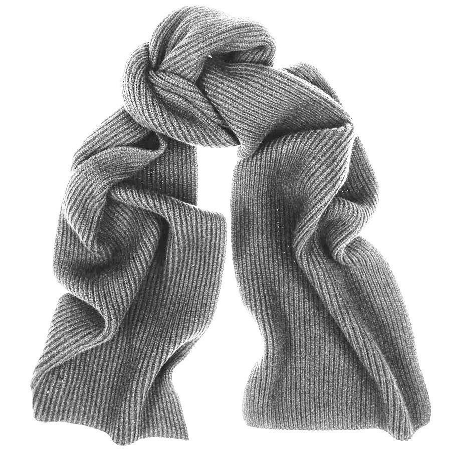 Luxurious, loose-knitted scarf made from super soft cashmere. Wear it with your favourite outerwear or leisurely styled in the neck of a relaxed knit sweater for extra warmth and comfort. • % cashmere • Loose knit • x50 cm.