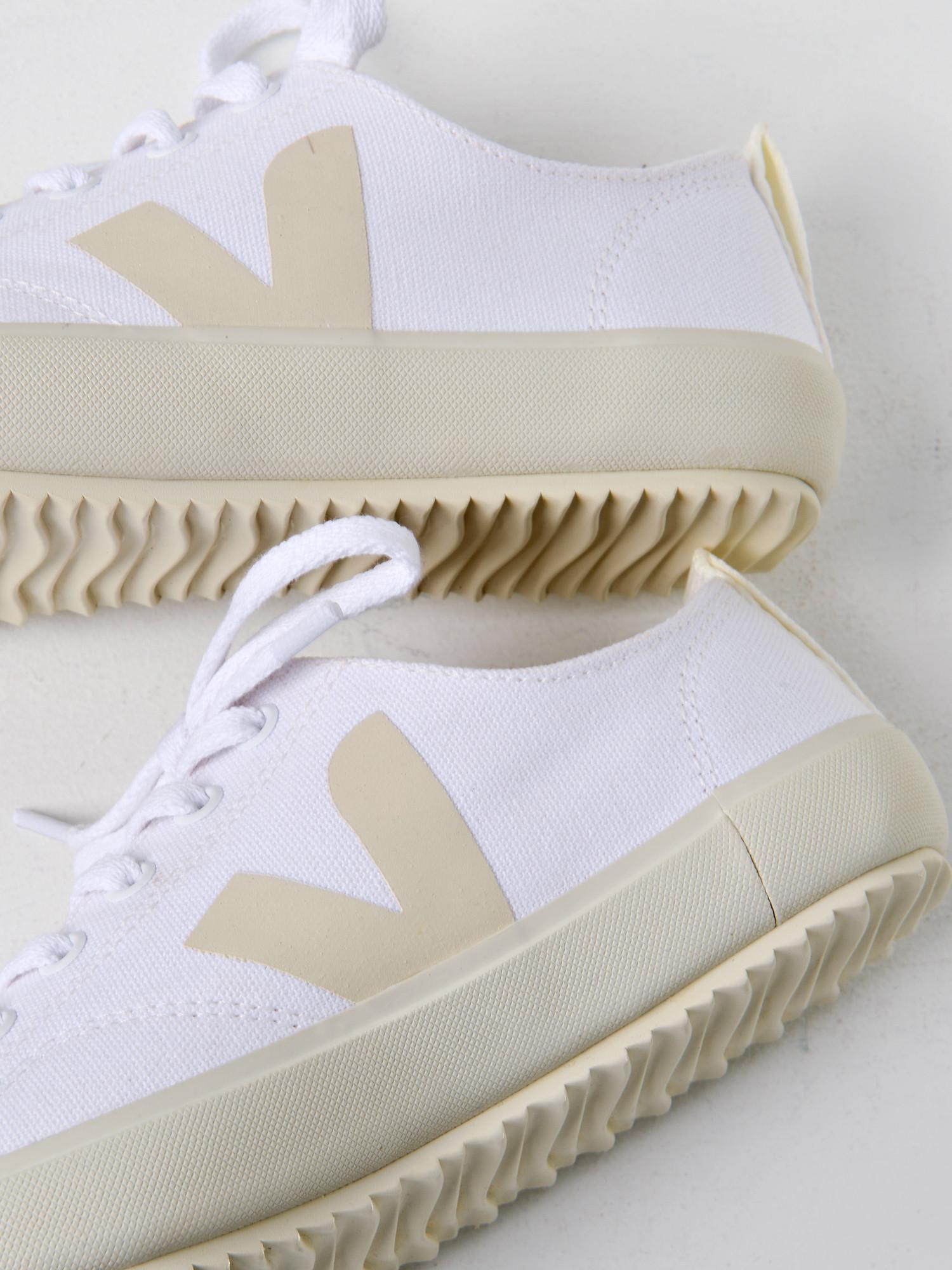 Veja Cotton Bastille Nova White Pierre