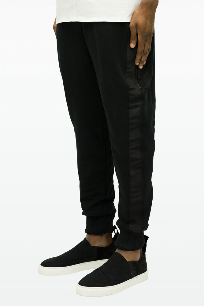 Blood Brother Mens Guille Joggers In Black For