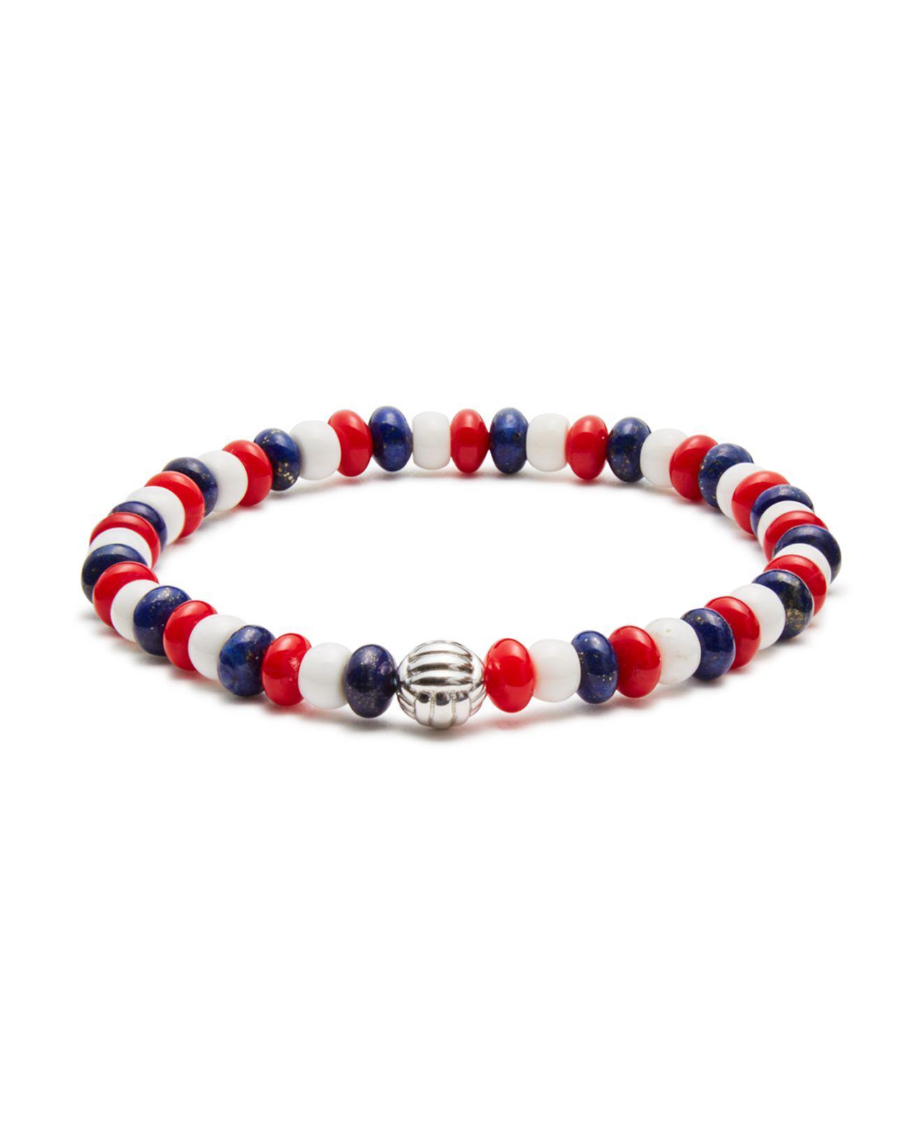 Bead and turquoise-embellished bracelet Toga Archives 0lDeyi