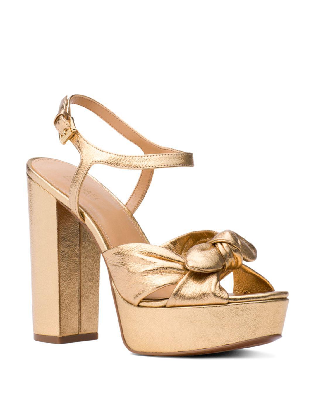 44b04c6d02 MICHAEL Michael Kors Women's Pippa Leather Platform High-heel ...