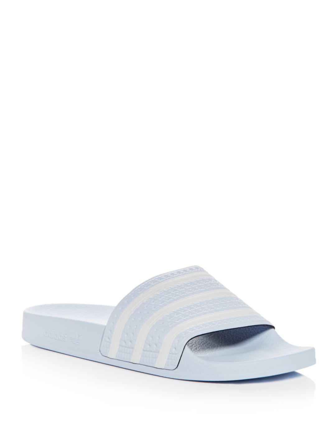 Lyst - Adidas Men s Adilette Slide Sandals for Men 7e8f78b08