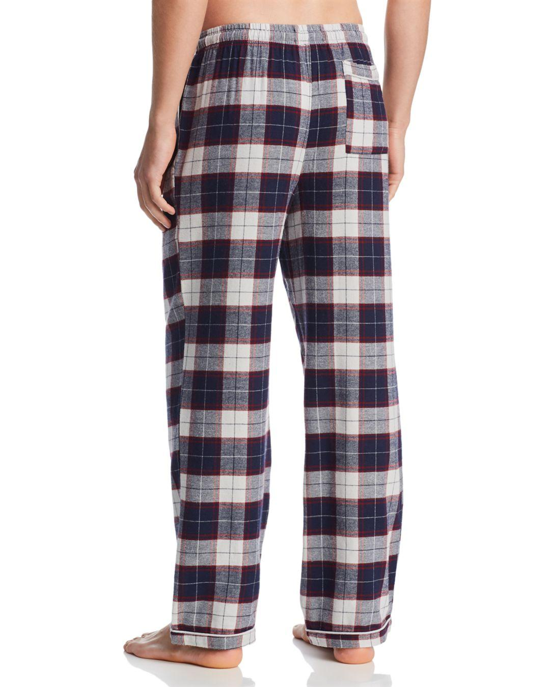 d23c88c55f Lyst - Psycho Bunny Plaid Flannel Pajama Pants in Blue for Men