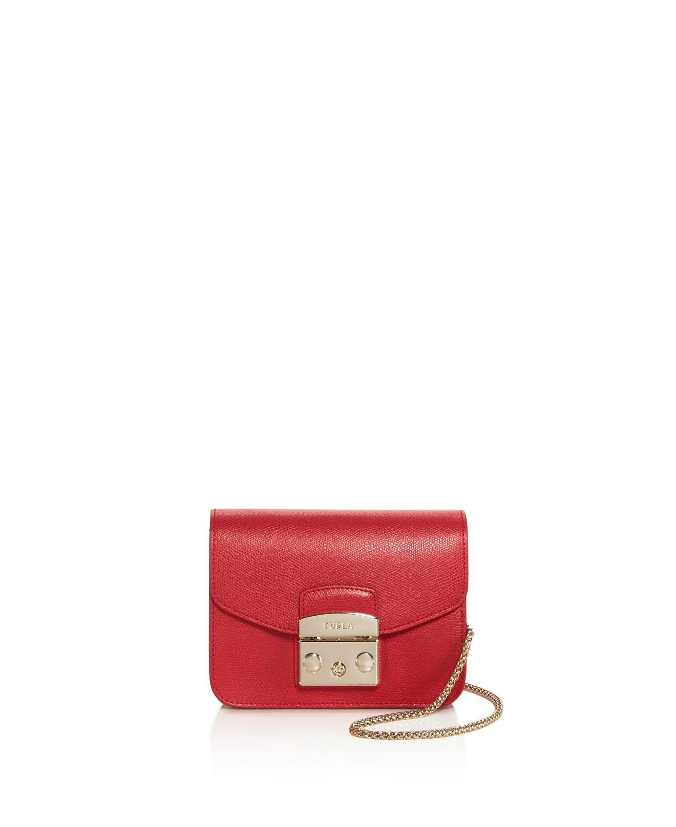 mini Metropolis cross body bag - Red Furla UQHXb