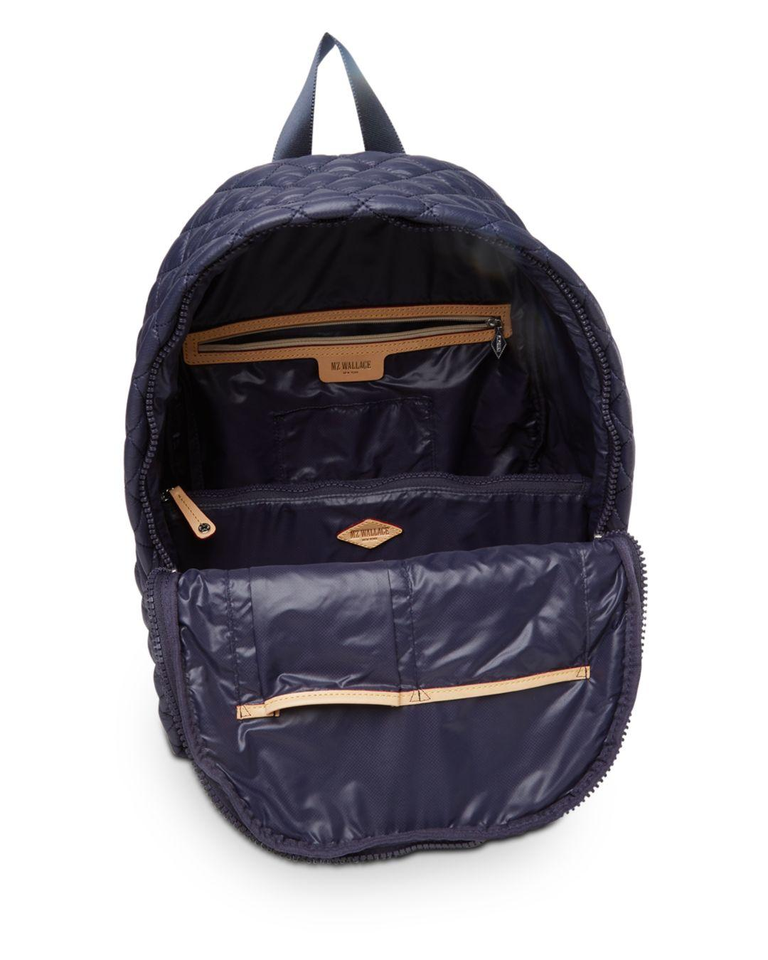 MZ Wallace Synthetic Oxford Metro Backpack