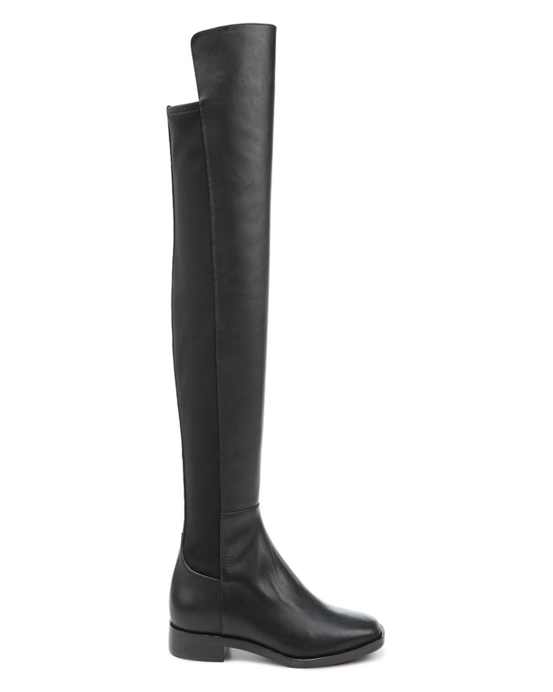 e955ea1c0f3 Lyst - Via Spiga Women s Varun Leather   Stretch Over-the-knee Boots ...