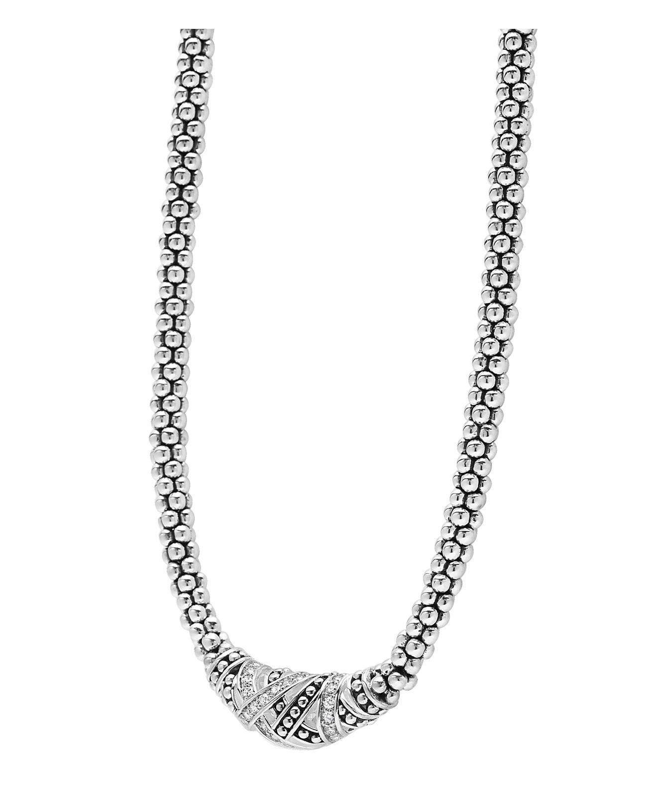 """Lagos 16"""" in White/Silver (Metallic)"""