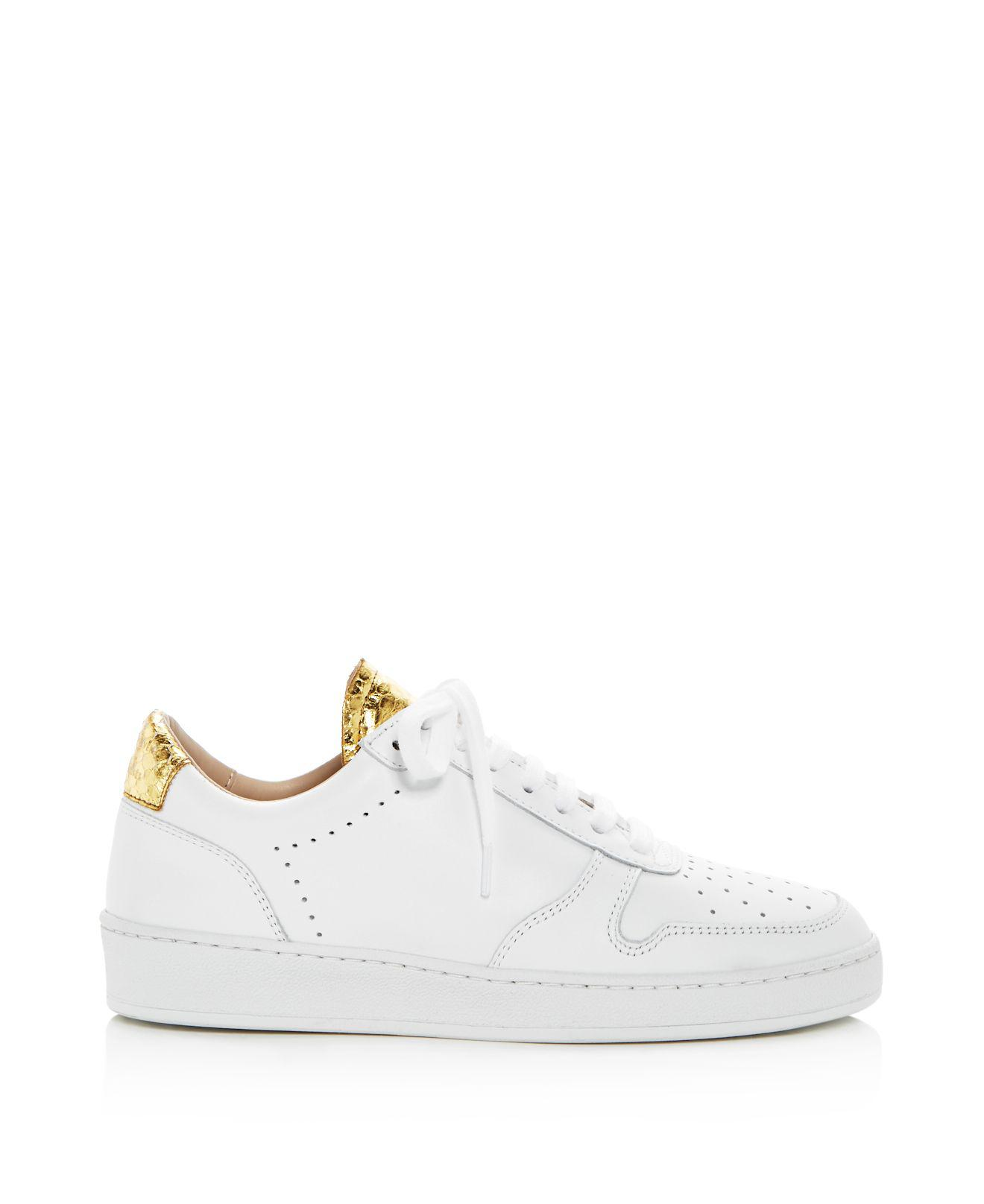 perforated lace-up sneakers - White Zespà ED4TVHH