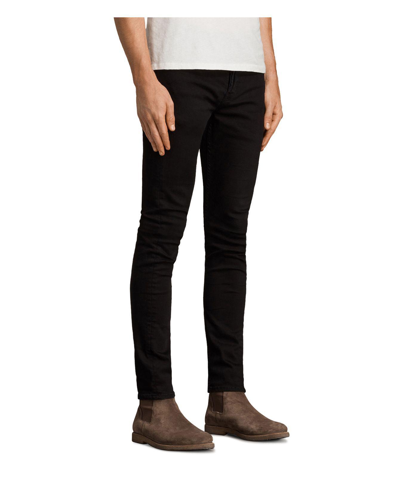 discount sale new concept excellent quality Blouis Cigarette Slim Fit Jeans In Black