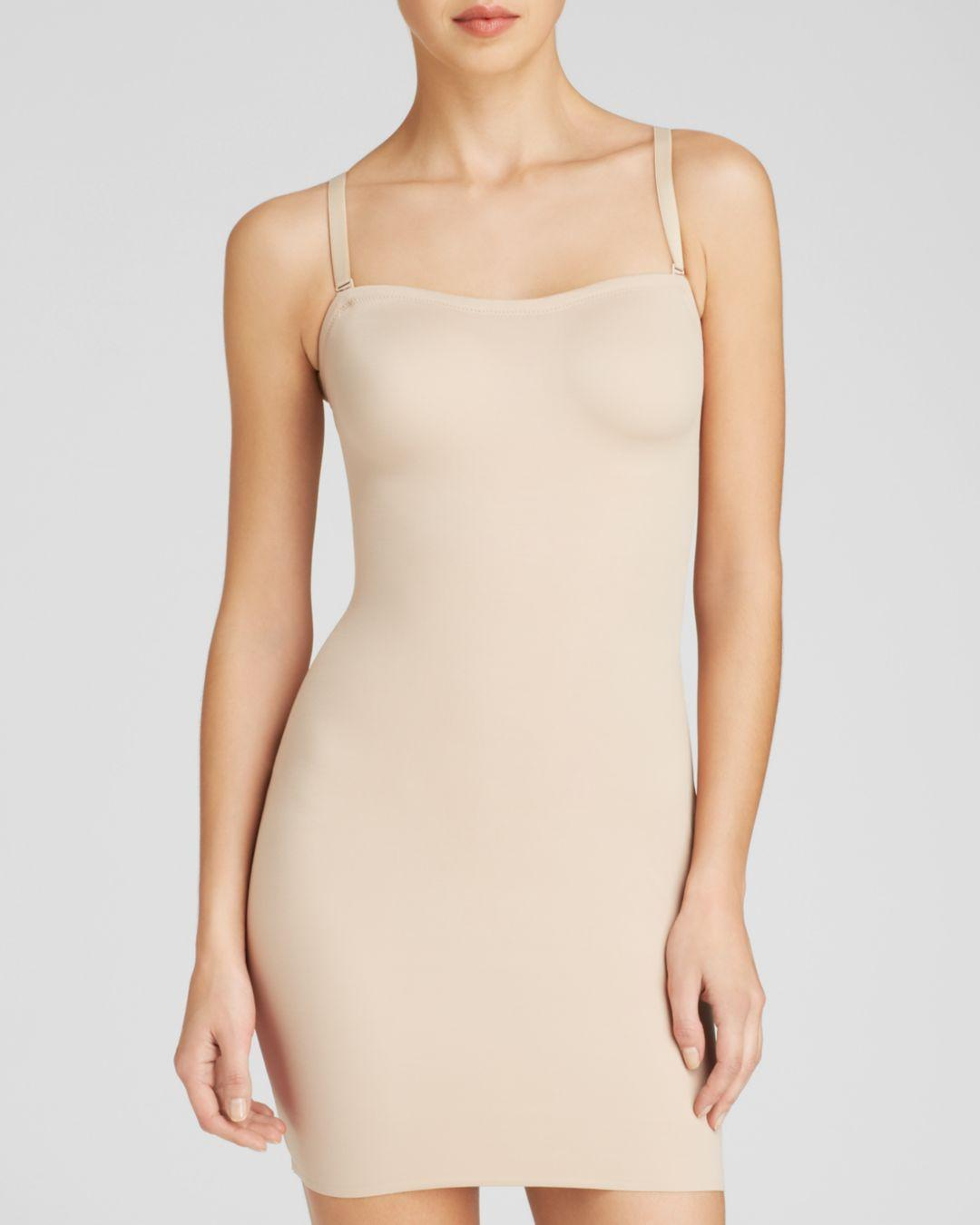 Tc Fine Intimates Synthetic Just Enough Strapless Slip in